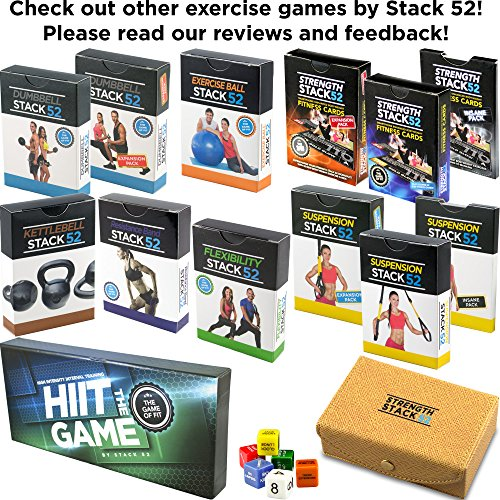 Stack 52 HIIT Interval Workout Card Game - Gift Ninjas